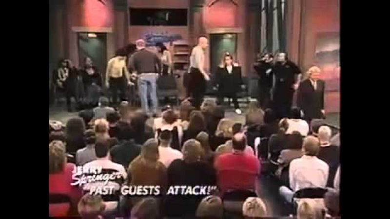 The Jerry Springer show - Brittany (Past Guests Attack)