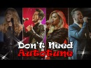Top 12 Singers Who Really Don't Need Autotune