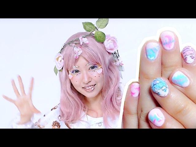 Japanese fashion model Kimura Us nails and hair care【ネイル紹介12504アケア】ファッションモデル&クリエ