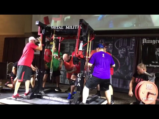 Амит Сапир, приседания 345 кг