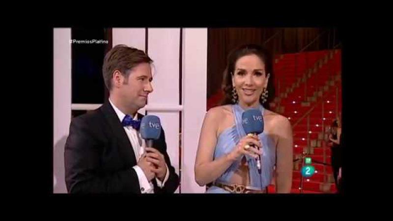 Natalia Oreiro, Miguel Ángel Silvestre y Pedro Almodóvar en Previo Premios Platino