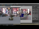 Renderman - Rendering a Robot in NYC with IBL HDRI