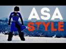 Лезгинка на Эльбрусе - Asa Style ( DANCING IN THE MOUNTAINS LEZGINKA 2017 HD )
