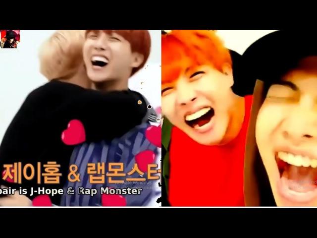 How J-hope loves RapMon and how RapMon loves J-Hope-BTS NAMSEOK (NAMJOON HOSEOK) MOMENTS