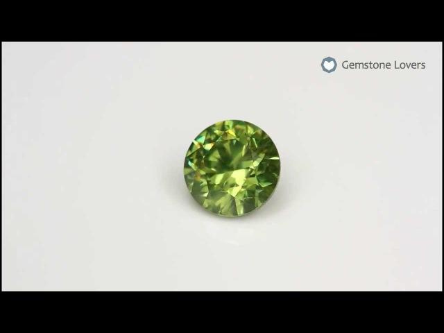 Зелёный гранат демантоид 1,23 кт.