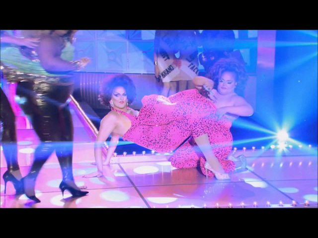 Jaidynn Diore Fierce vs Ginger Minj - I Think We're alone now lipsync HD RuPaul's Drag Race Season 7