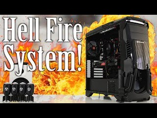 Hell Fire Ryzen 3 1200 $800 Awesome System Build!