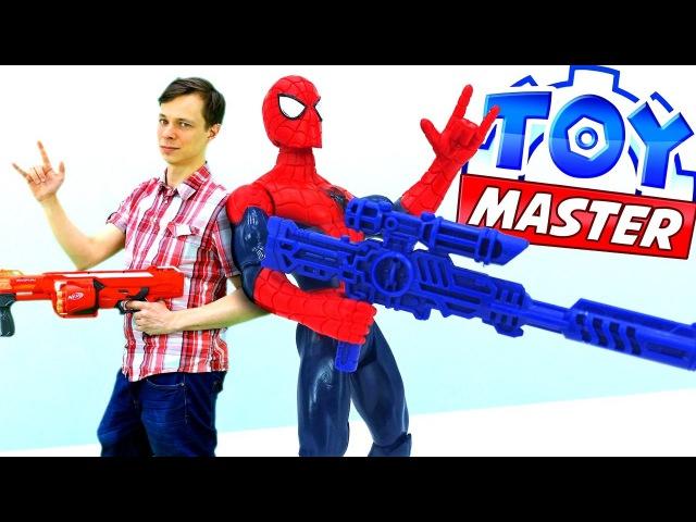 Федор Toy Master🔧и ЧеловекПаук против ПРИЗРАКОВ 👻Джокера и Бэйна. Часы Yo-Kai Watch рас ...