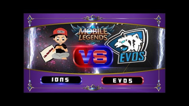 IDNS VS EVOS Squad The Real Defend High Ground Mobile Legends