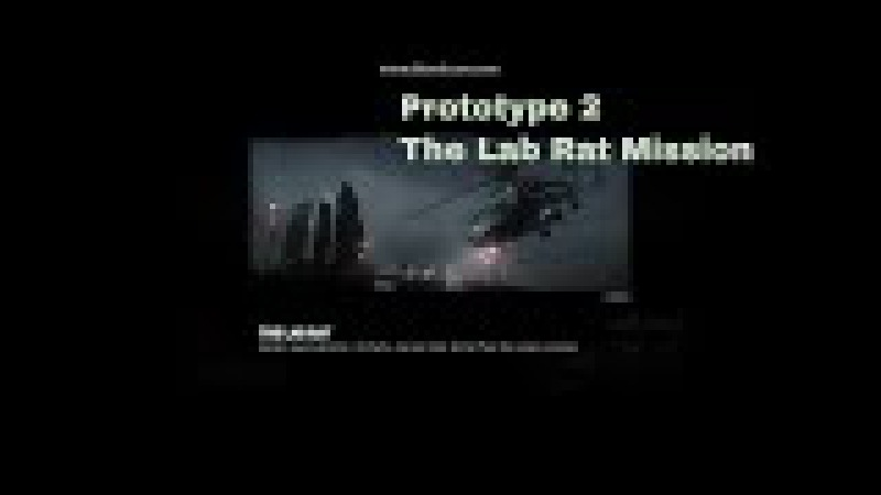 Prototype 2 The Lab Rat Mission
