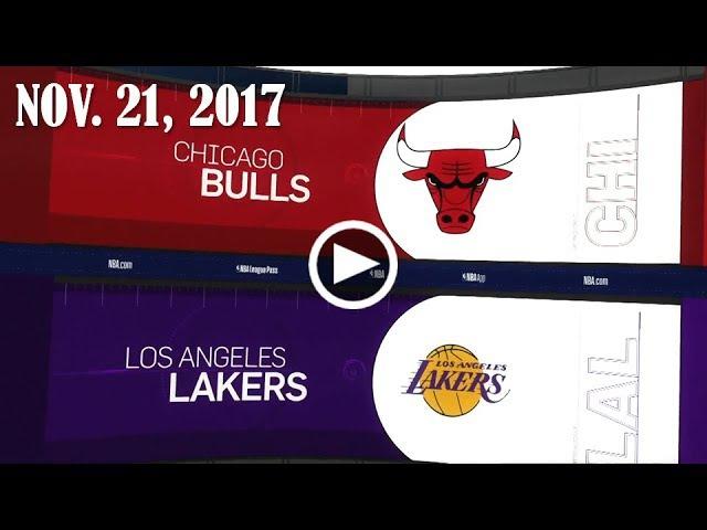 Сhiсаgо Bulls - LA Lakers | 21.11.17 | 2017/18 NBA Season
