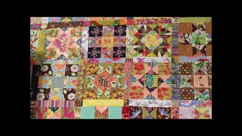 Cross Craft Sundays in Your PJs: No. 4: Quilting. The Ohio Star Scrappy Happy Quilt Block Quilt