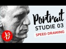 Speed Drawing Daniel Craig James Bond Ep 03 Deutsch HD (Draw with Taldrian)