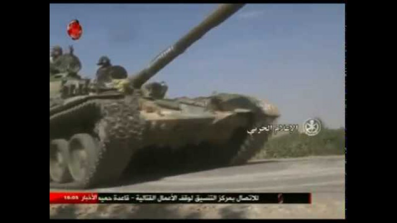 Deir al-Zour - units of the army in cooperation with the allied forces control the town of Khasham