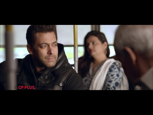 CP PLUS Salman Khan TVC 3 - Bus Monitoring