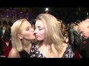 Jennifer Lawrence Kisses Natalie Dormer