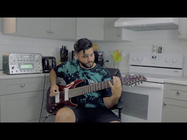 Mu 無 - Andrew Baena (Original 9 String Guitar Djent / Metal Song) - Guitar Playthrough