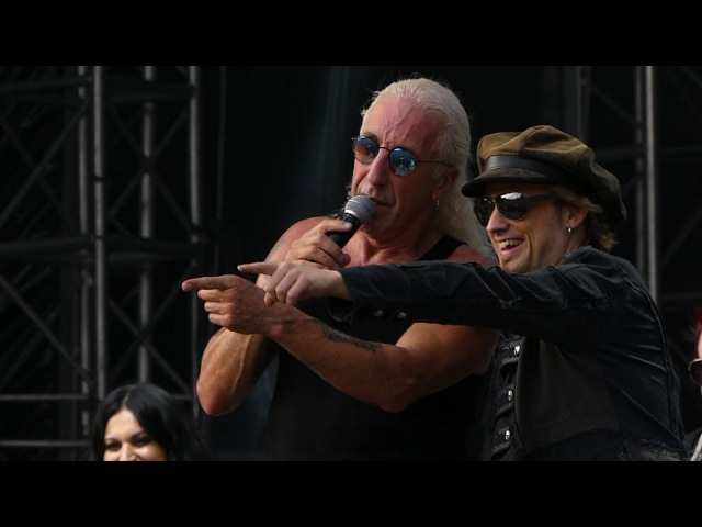 Fun with Dee Snider ,Tobias and Scabbia at Masters of Rock 2017