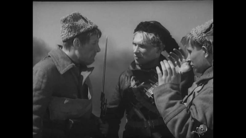 «Человек с ружьём» (1938) - драма, военный, реж. Сергей Юткевич, Павел Арманд, Мария Итина