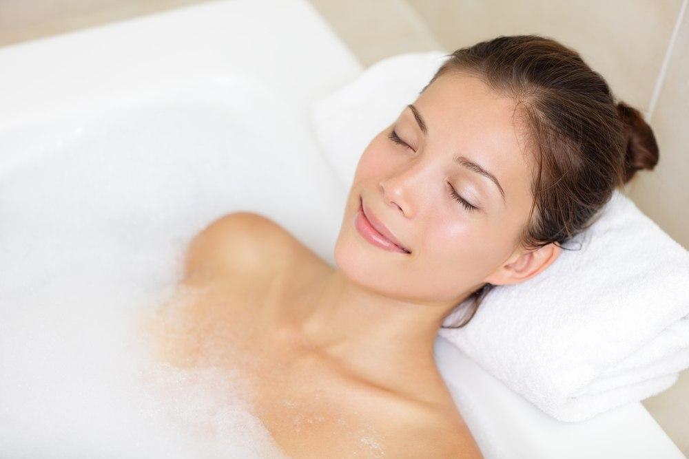 Приятная и успокаивающая ванна