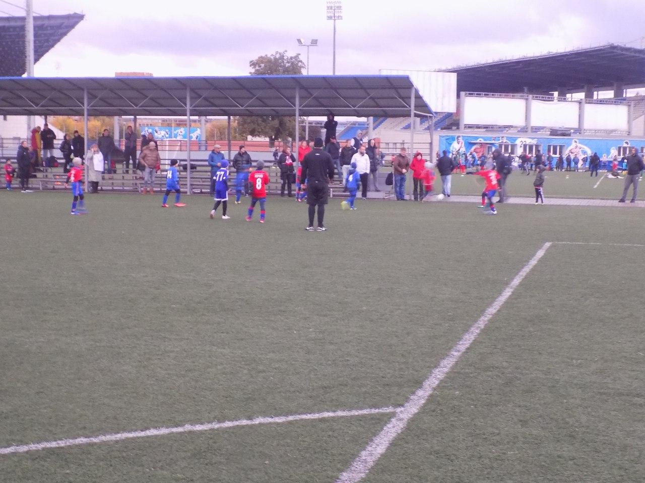Итоги первого игрового дня турнира по футболу среди детских команд 2009 г.р.