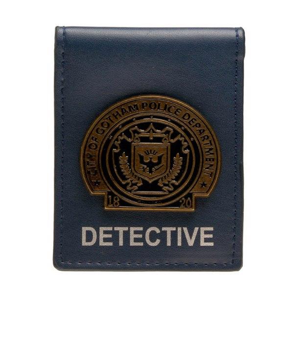 Бумажник со значком детектива города Готем