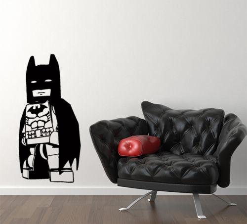 Наклейка на стену Lego Batman