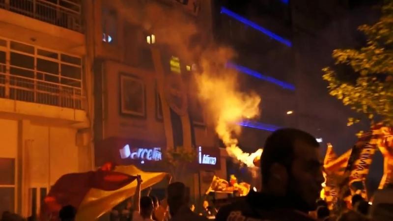 Лионский беспорядок: БЕШИКТАШ VS ЛИОН(подробней в описании)Lyon a mess: BESIKTAS VS LYON (13.04.2017)