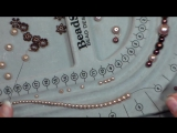 Elegant Glass Pearl Necklace Easy Tutorial (Perfect for Weddings, Flower Girls  Special Occasion!)