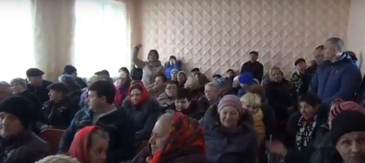 Жители Ониськово выступили против присоединения к Курисовской громаде