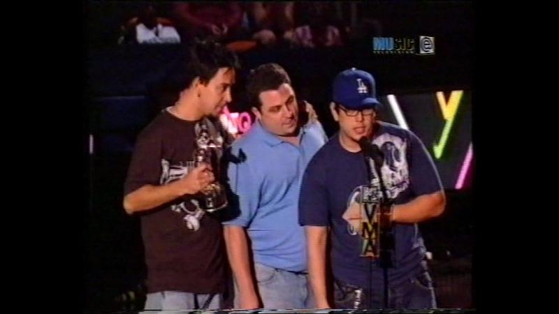 VHSRip Linkin Park выигрывают MTV VMA 2004 канал eMusic