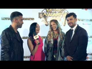 Interviu Delia si Deepcentral la Media Music Awards 2016.