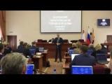 Председатель ЗСО Андрей Луценко выступил на первой сессии Череповецкой гордумы, в рамках которой были избраны Глава и мэр города