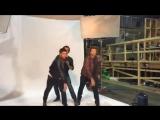 Джеи и Миша на фотосессии для хэллоуинского выпуска журнала EW