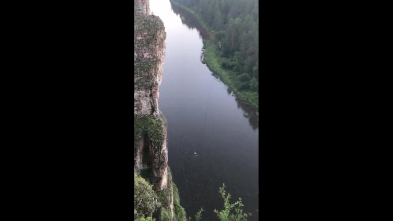 72 метра. Река Ай.