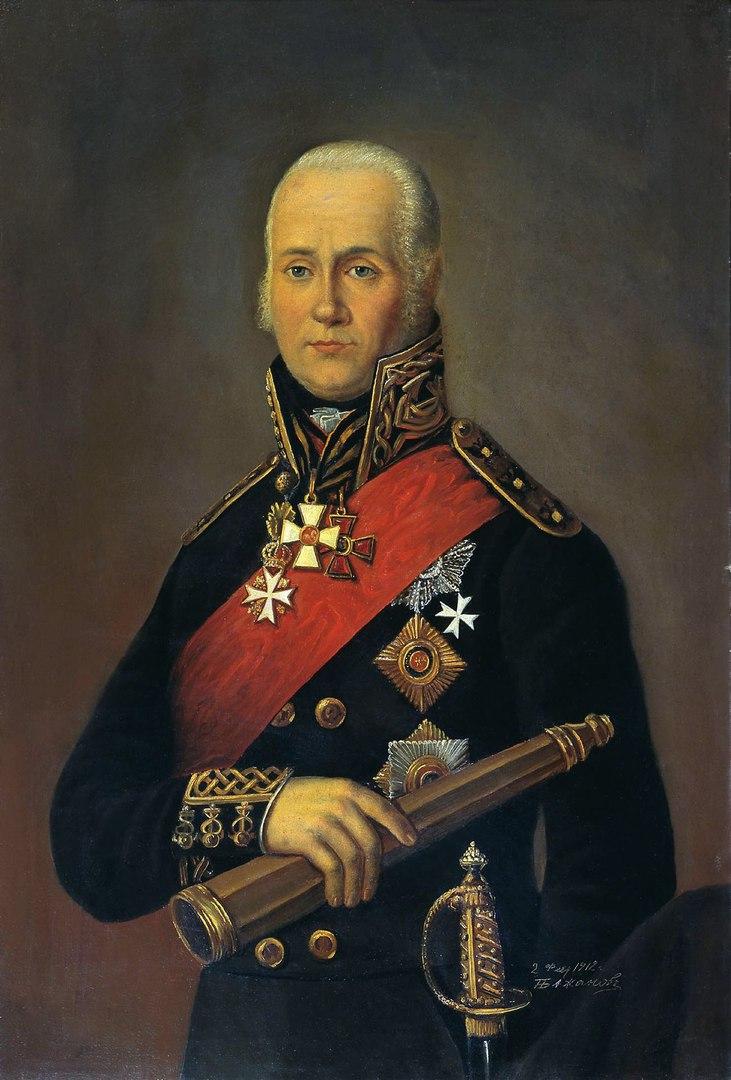 QDel.ru напоминает, на фото Адмирал, Фёдор Фёдорович Ушаков