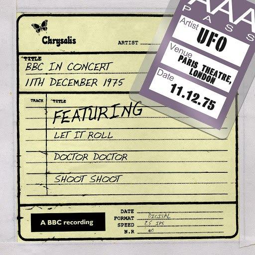 UFO альбом BBC in Concert (11 December 1975)