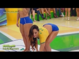 Brazilian Girls play Twister
