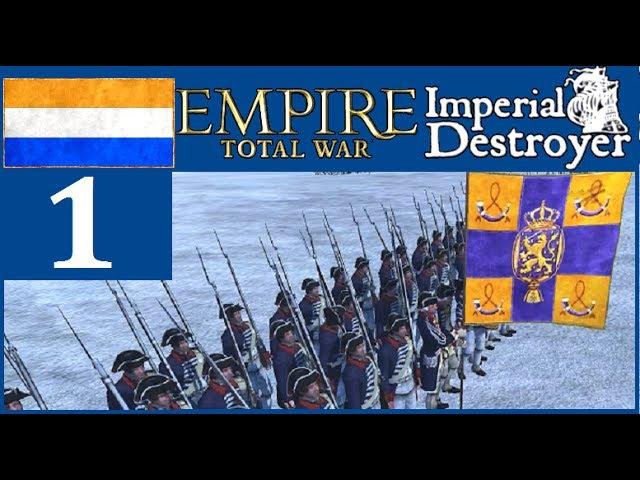 Нидерланды 1 ETW ID5 0 от республики к монархии