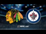 Chicago Blackhawks vs Winnipeg Jets NHL Game Recap