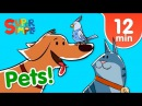 Our Favorite Songs About Pets | Kids Songs | Super Simple Songs