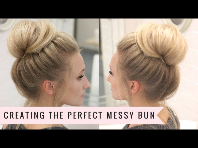 Messy Bun Made Easy... By SweetHearts Hair