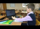 Максим (9 лет) считает со стихом ментально с 13 формулами