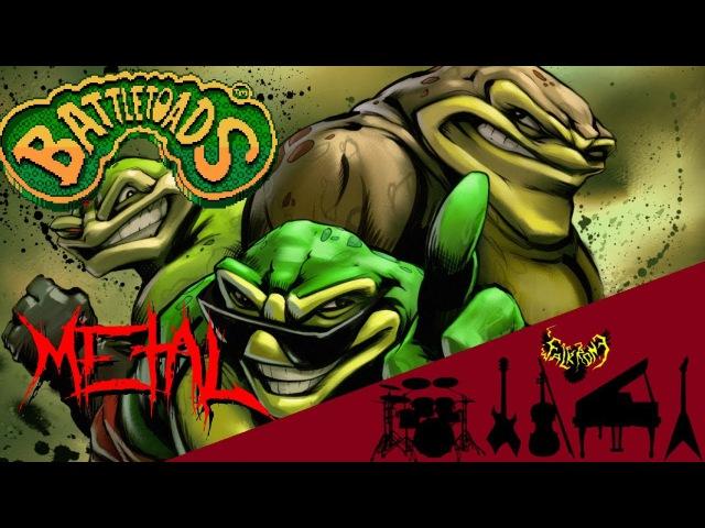 Battletoads - Title Theme 【Intense Symphonic Metal Cover】