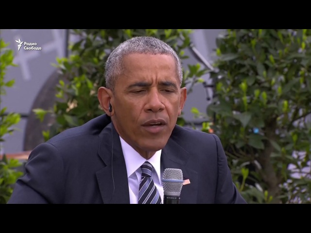 Барак Обама выступил у Бранденбургских ворот в Берлине