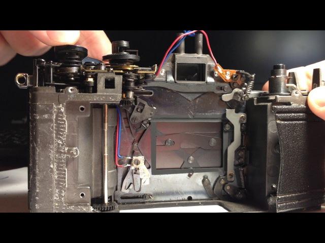 Praktica MLT 5 shutter work