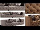 Моделирование дивана vittoriafrigerio Caracciolo в 3d max и marvelous designer