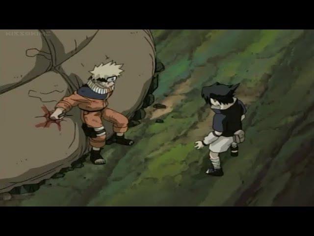 Naruto Humiliates Sasuke, Naruto vs Orochimaru(Sasuke Get Scared from Orochimaru)/Chunin Exam Ep.6