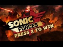 PRESS X TO WIN IN SONIC FORCES