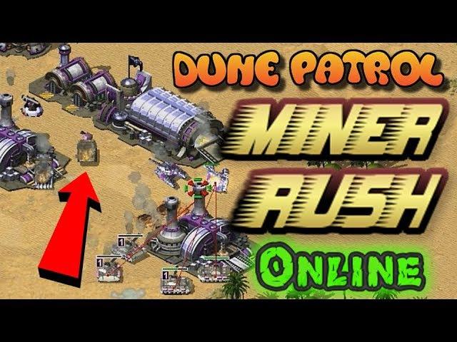 Red Alert 2 Yuri's Revenge - War Miner Rush - Dune Patrol